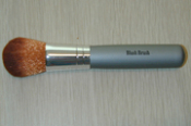 Vegan brush, specially designed to handle our dense pigment blush and bronzer minerals.